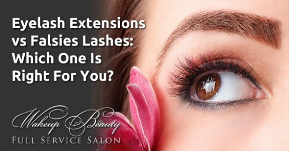 Eyelash Extensions vs Falsies Lashes: Which One Is Right For You?